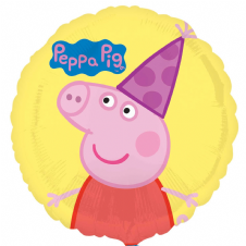 Peppa Pig Party Hat Foil Helium Balloon